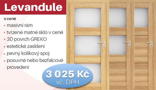 Náš cenový hit! Vnitřní dveře Levandule.