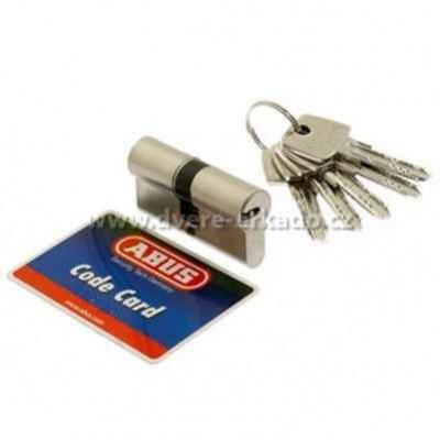 Pro dolní zámek  bezpečnostní vložka třídy 3 ABUS D6N 30/35 s bezp. kartou  + 605 Kč
